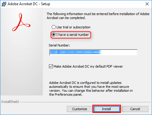 adobe acrobat x professional serial number