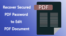 edit a secured pdf document