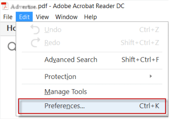 how to change text settings