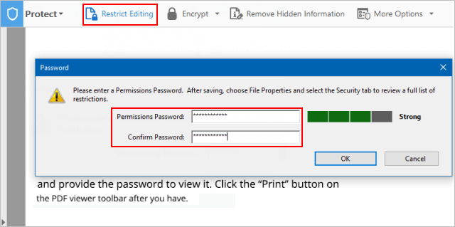 New Method to Add or Remove Password Security from PDFS in Acrobat DC