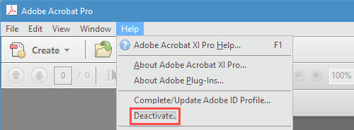 How to Reinstall or Transfer Adobe Acrobat DC to Another