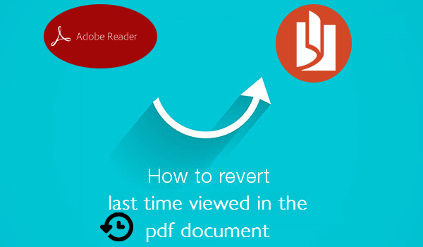 setup pdf access to last time viewed position
