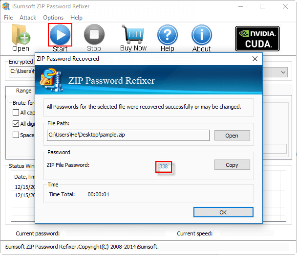 crack zip password mac