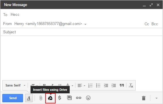 Send and Share ZIP/RAR Files Via Gmail/Windows 10 Mail App