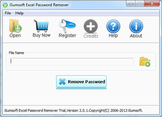 excel password remover screenshot
