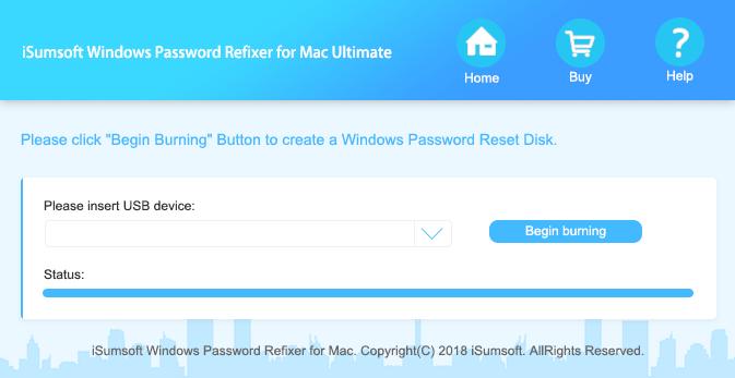 iSumsoft Windows Password Refixer for Mac – Windows Password