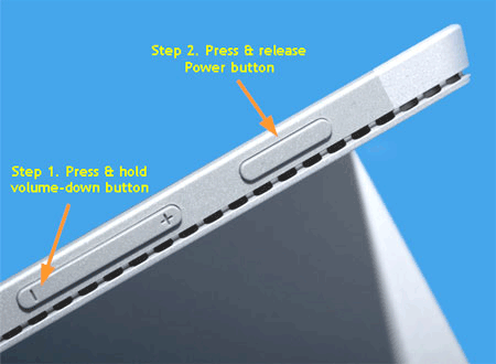 reboot surface pro from usb
