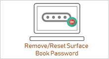 Remove/reset Surface book password