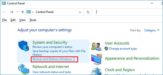 how to backup windows 10 onto usb
