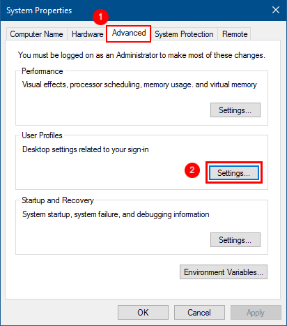 2 Ways to Delete User Profile in Windows 10