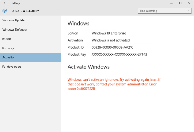 upgrade to Windows 10 enterprise completely