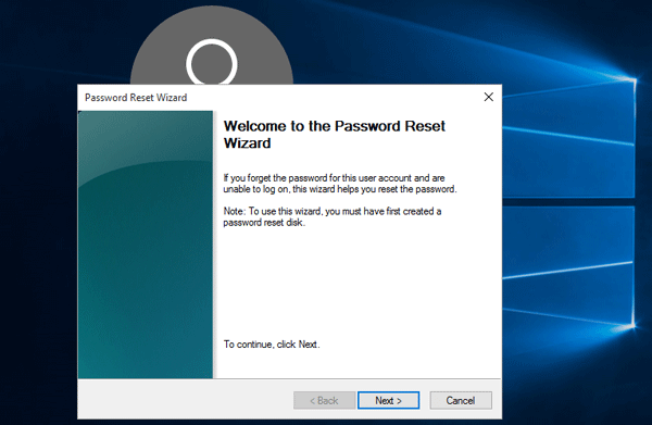 forgot windows login password