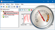 open performance monitor in Windows 10