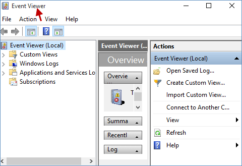 access event viewer