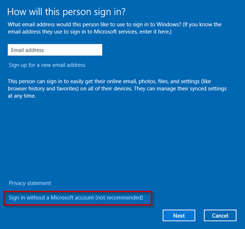 how to get to pc settings windows 10