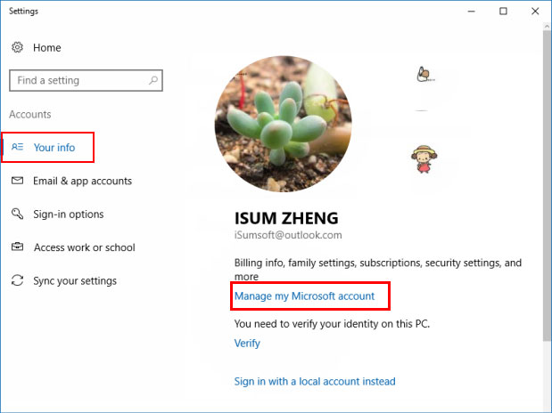 Change Account Name of Windows 10 Sign-in Screen