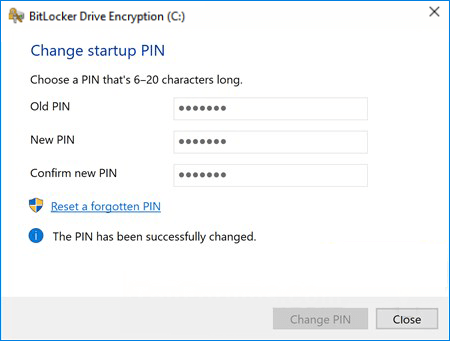 3 Ways to Change/Reset BitLocker PIN or Password of Encrypted Drive