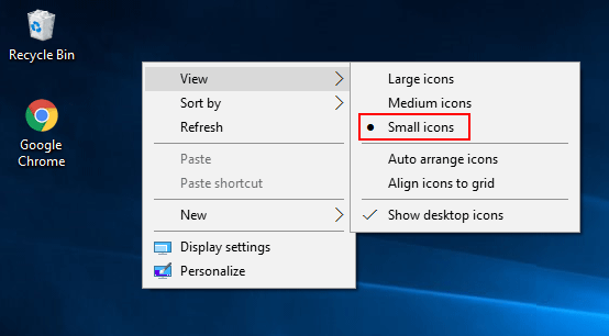 3 Ways to Change the Size of Desktop Icons in Windows 10
