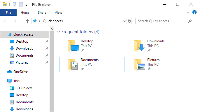 2 Ways to Clear Quick Access History in Window 10