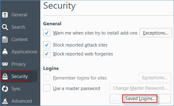 How to Delete Saved Username and Password in Chrome/Firefox/Safari
