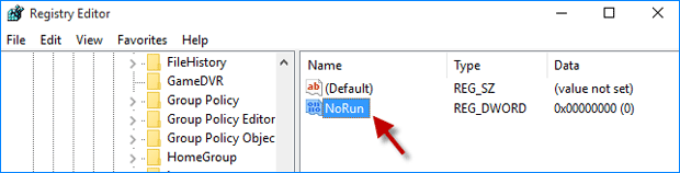 2 Ways to Disable or Enable Run Dialog Box in Windows 10
