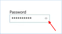 disable password reveal button in Windows 10