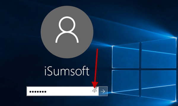 Password Reveal button in Windows 10