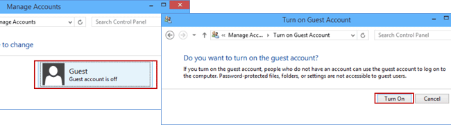 how to delete guest account on windows 10