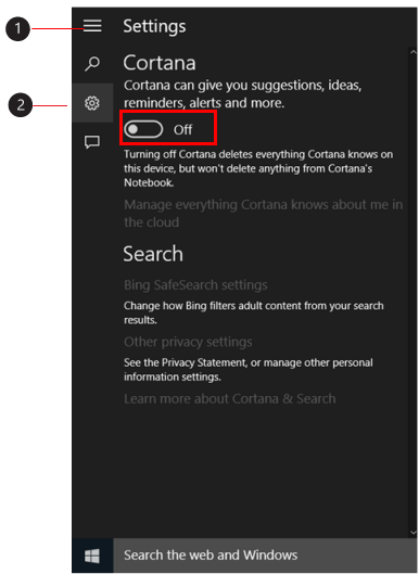 how to delete cortana in windows 10