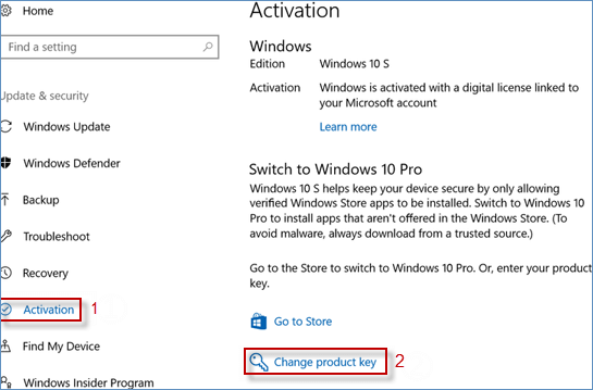find out windows 10 activation key