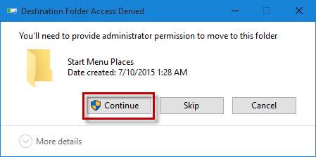 Restore Missing File Explorer Icon to Windows 10 Start Menu