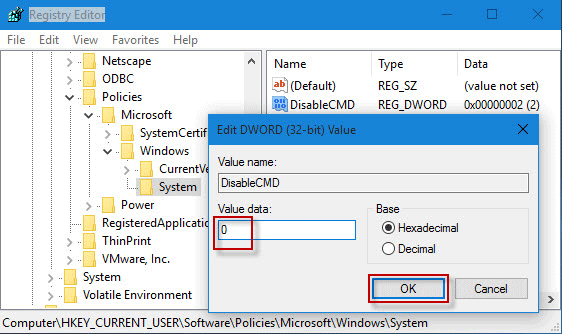 how to change from owner to administrator in command prompt