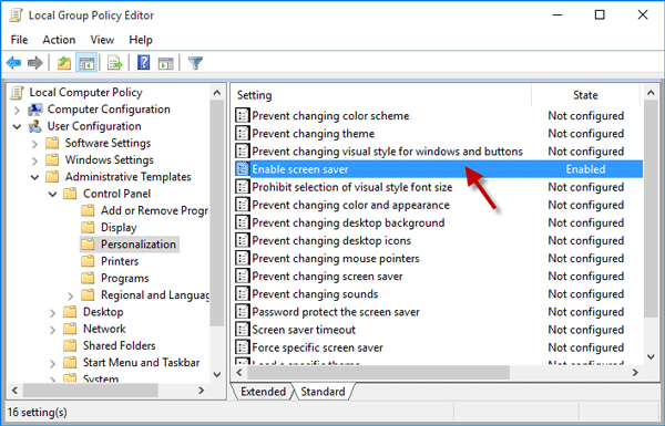 cannot change icon size in windows 7