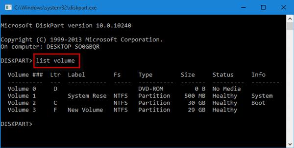 Hide/Unhide Hard Disk Partition in Windows 10 File Explorer