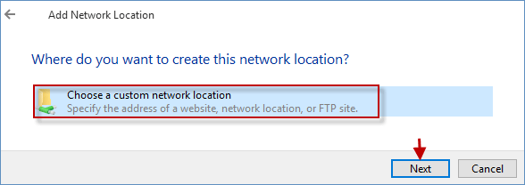 windows 10 network location