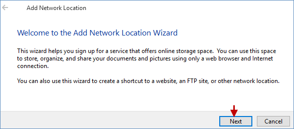How to Add a Network Location Manually in Windows 10