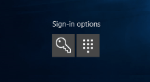 add sign in options