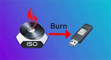 burn Windows 10 iso to usb