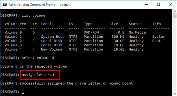 Change Drive Letter For Local Removable Disk On Windows 10