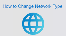 change network type to public