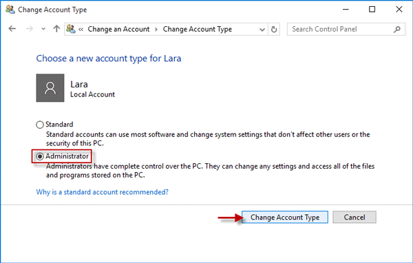 How to Delete An Admin Account in Windows 10 without Password