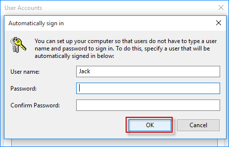 set lock screen password windows 10