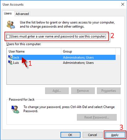how to change lock screen password on windows 10