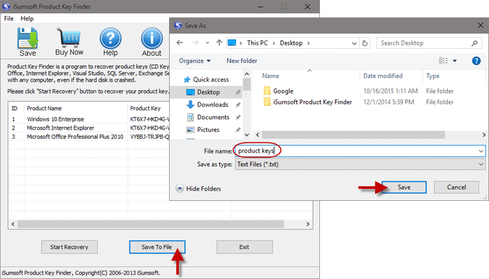 how to find my product key windows 10