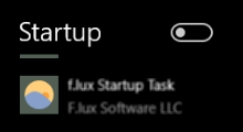 Manage startup programs