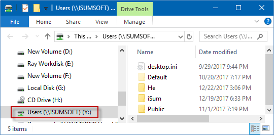 How to Map and Disconnect Network Drive on Windows 10