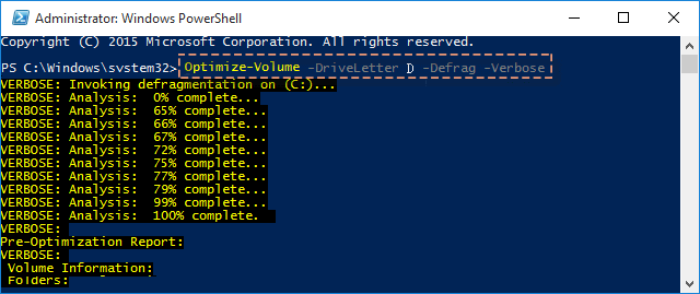 3 Ways to Optimize and Defrag Hard Drive Disk in Windows 10
