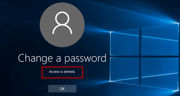 Prevent Users from Changing Their Own Password in Windows 10