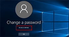 prevent user from changing password