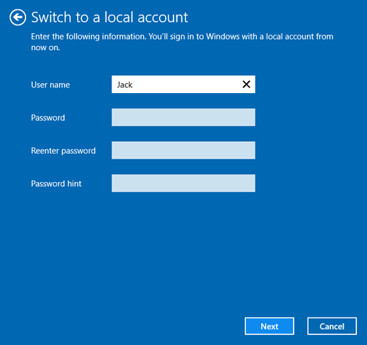 2 Options to Delete/Remove Microsoft Account from Windows 10